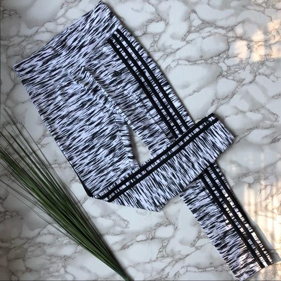 3bb17f2b89b adidas Pants | Originals Three Stripe Zebra Print Leggings | Poshmark